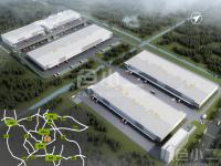 芜湖鸠江经济开发区单层钢结构高标仓