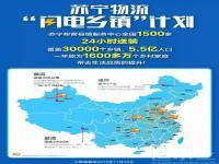第1500家,苏宁帮客下沉覆盖30000多乡镇