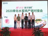 顺丰召开《桃行天下•顺丰领鲜 2020奉化水蜜桃产销对接会》,寄递达236个城市