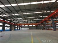 上海市青浦区10000平米新建单层厂房出租,可分割,层高10米,有行车